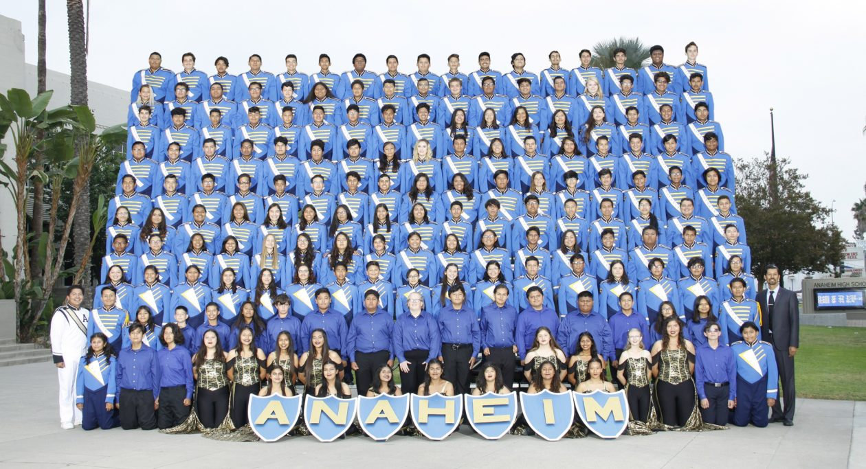 Anaheim High School Colonist Band & Pageantry